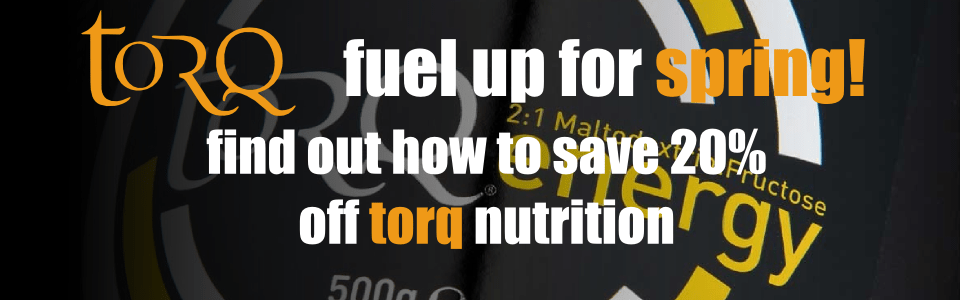 Torq Nutrition 20% off offer