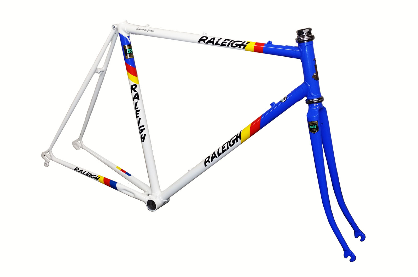 Raleigh Panasonic Colours