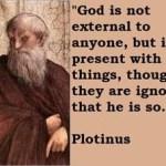 On Plotinus and immortality