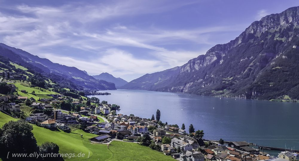 Schweiz - Region Heidiland