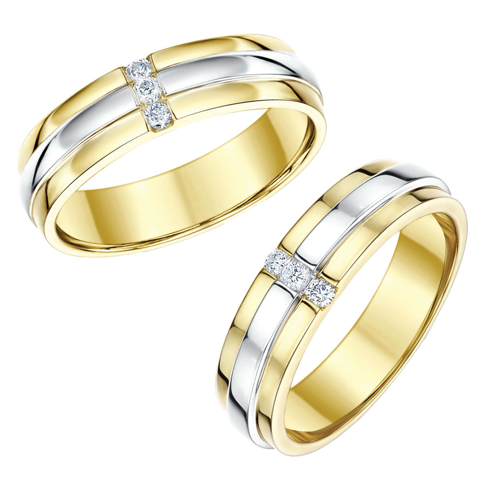 white gold c matching gold wedding bands Platinum Sets White Gold Yellow Gold