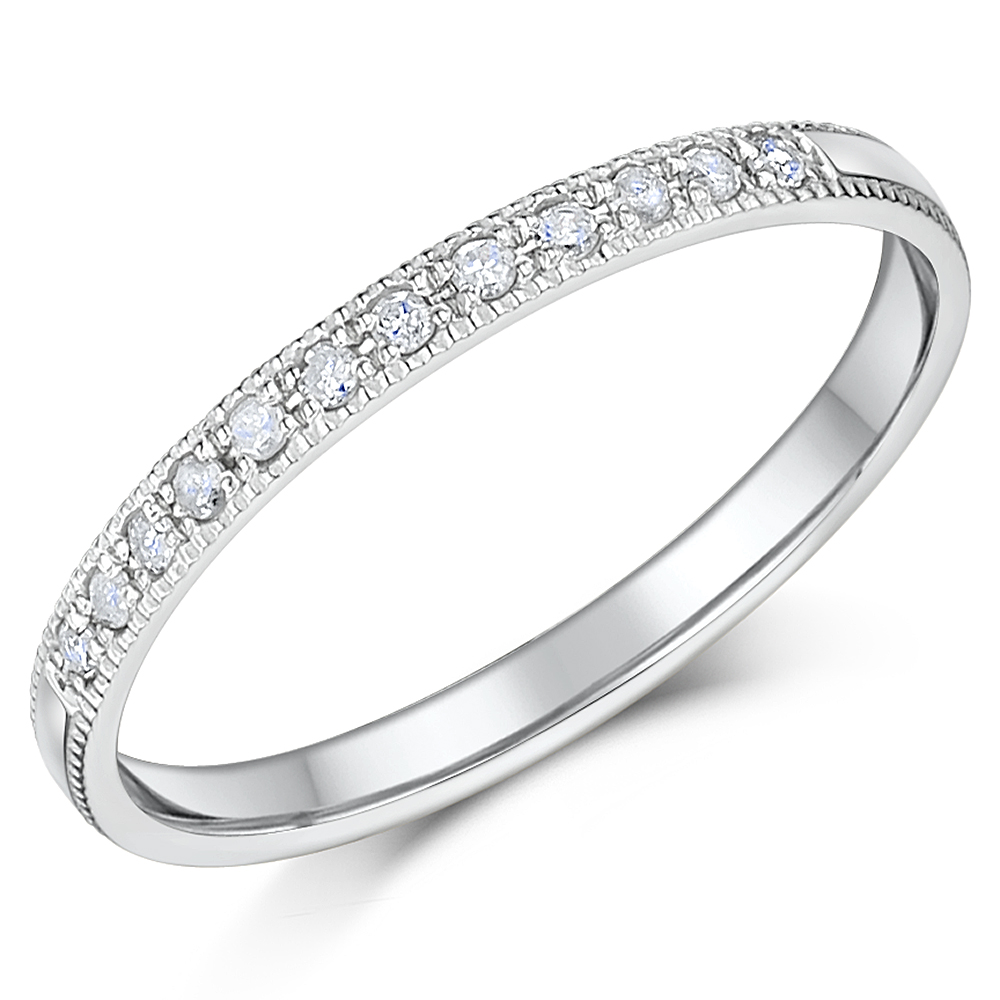 palladium rings c palladium wedding rings 2mm Palladium Diamond Eternity Wedding Rings