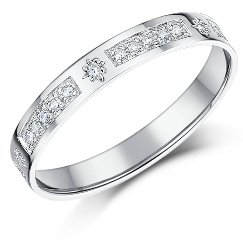 Large Of Gold Diamond Rings