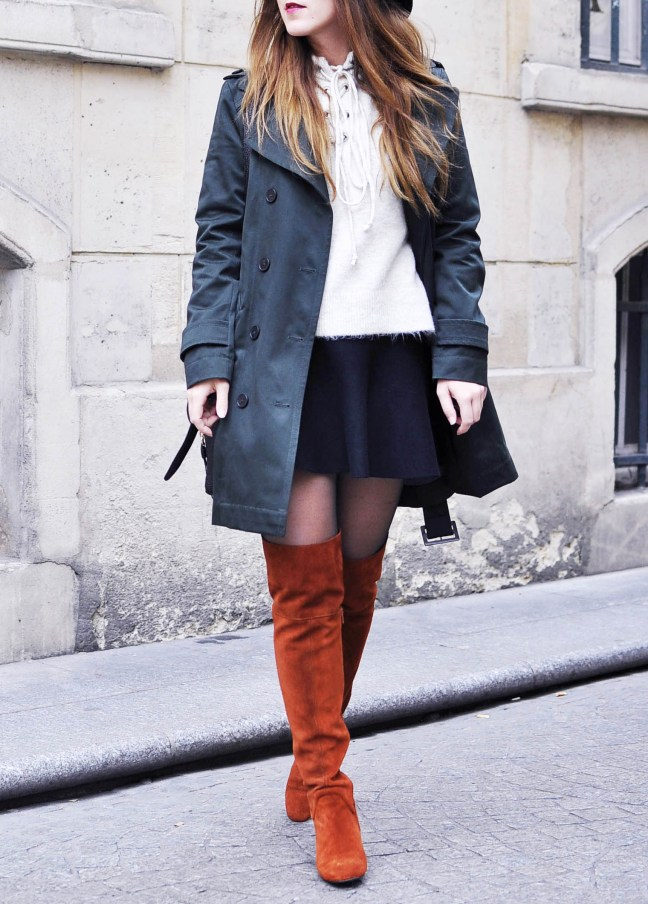 For the love of thigh high boots elodie in paris - Instagram comptoir des cotonniers ...