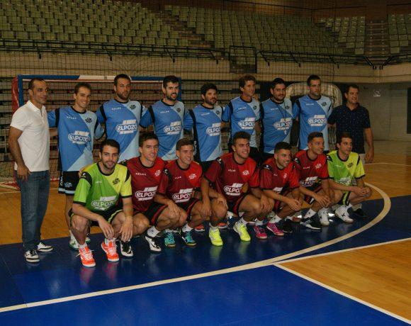 El renovado ElPozo Murcia FS comienza la pretemporada 2016-17