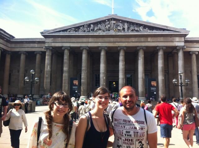 Con Rubén por Londres