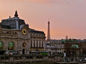 The Promenade in Paris includes the Palais de Justice (made famous during the French Revolution), the Conciergerie (where Marie Antoinette was imprisoned), the church of Saint Chapelle, and the Pont Neuf Bridge.