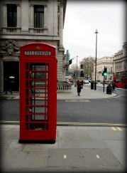 London still has their iconic telephone booths.