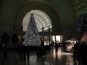 Christmas in Washington certainly has its charms for me, but it isn't Paris.