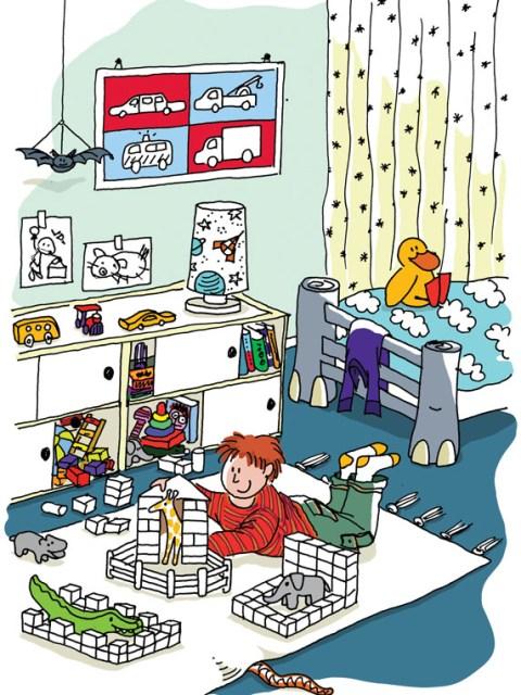 Illustraties kinderkamer