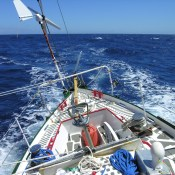 Good sailing in the trades