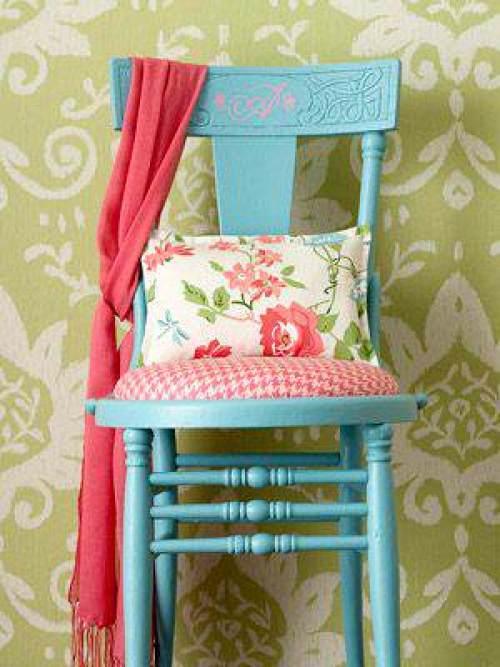 Mueble Baño Turquesa:Pintar muebles de Azul Turquesa – El Taller de lo Antiguo