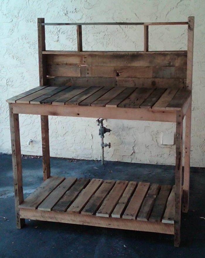 Construir muebles con palets  El Taller de lo Antiguo