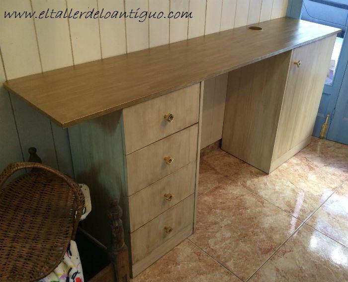 **Como pintar muebles de melamina - El Taller de lo Antiguo