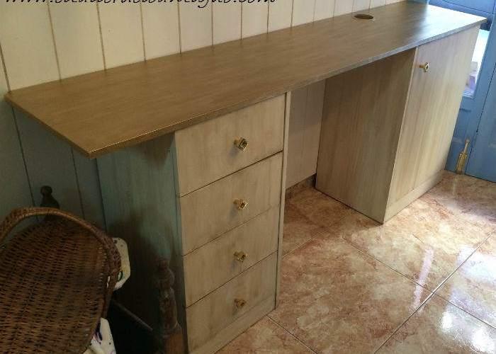 Pintar melamina sin lijar archives el taller de lo antiguo for Pintar muebles barnizados