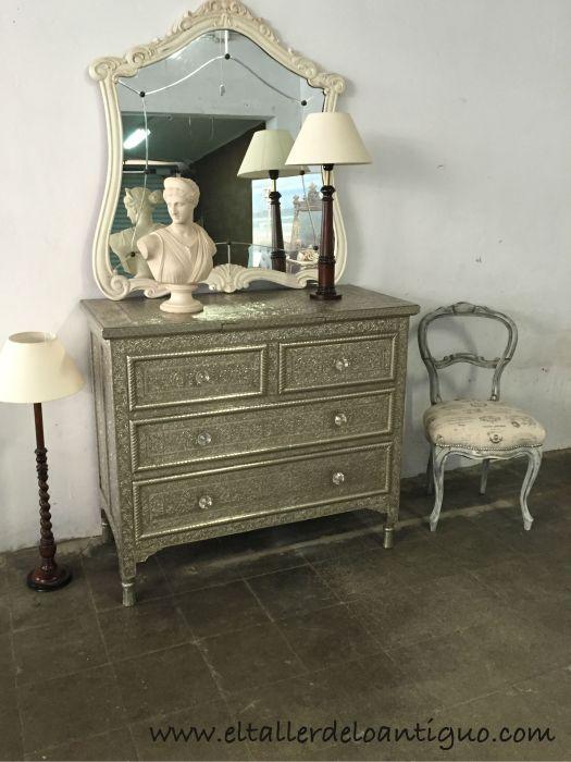Limpiar mueble de alpaca el taller de lo antiguo - Como limpiar muebles de madera ...