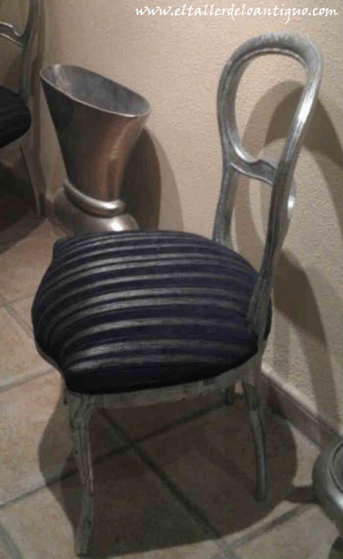 Como tapizar una silla el taller de lo antiguo - Sillas para restaurar ...