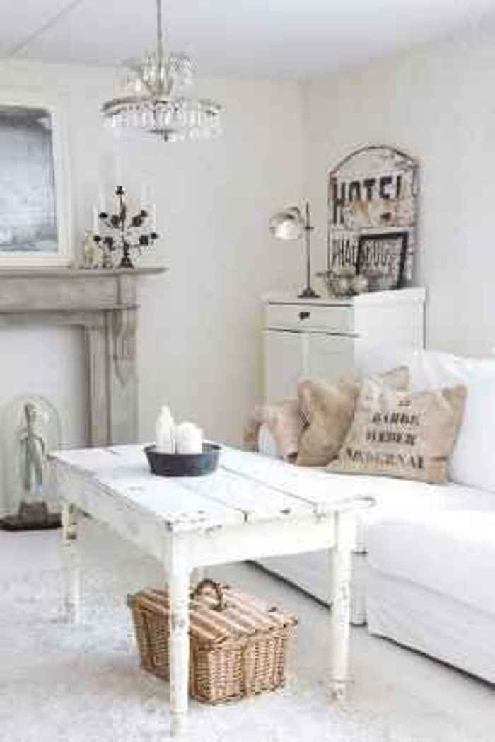 shabby chic estar en blanco