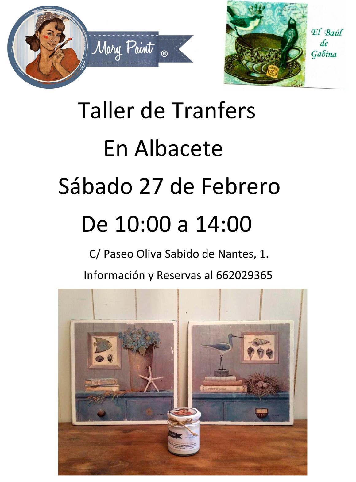 taller de transfers