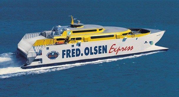 Fred Olsen deja en tierra a pasajeros que desde La Gomera se trasladaban a Agaete este viernes