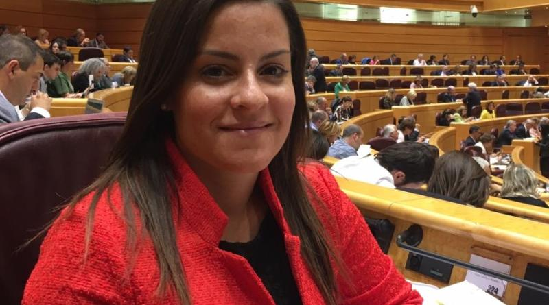 La senadora Yaiza Castilla defiende la conveniencia de aumentar el apoyo a las pymes