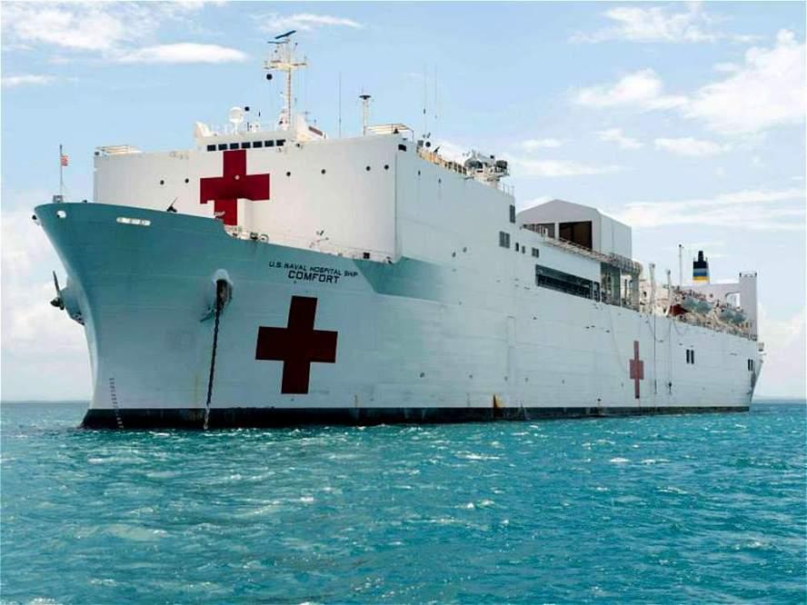 Resultado de imagen para buque USNS Comfort
