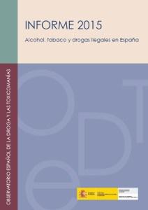 Informe alcohol, tabac i drogues 2015