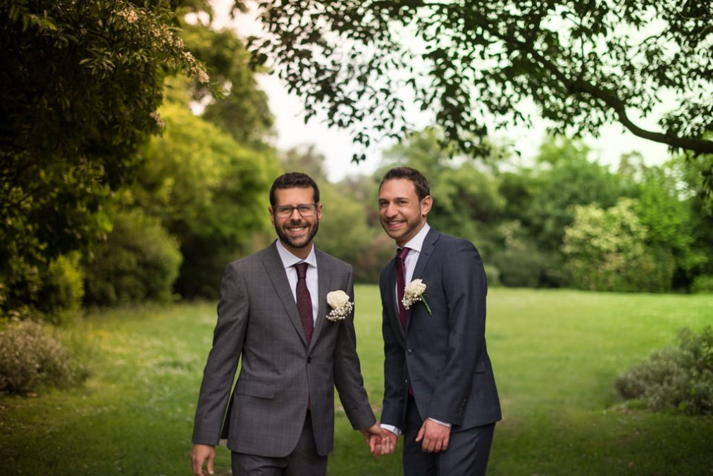 Gay Wedding Photographer London Town Hall Hotel Elyse