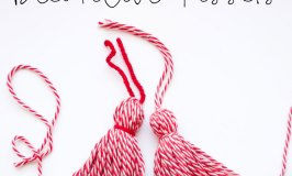 DIY Decorative Yarn Tassels