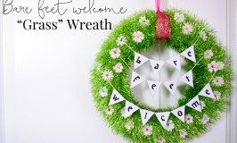 DIY Grass Wreath