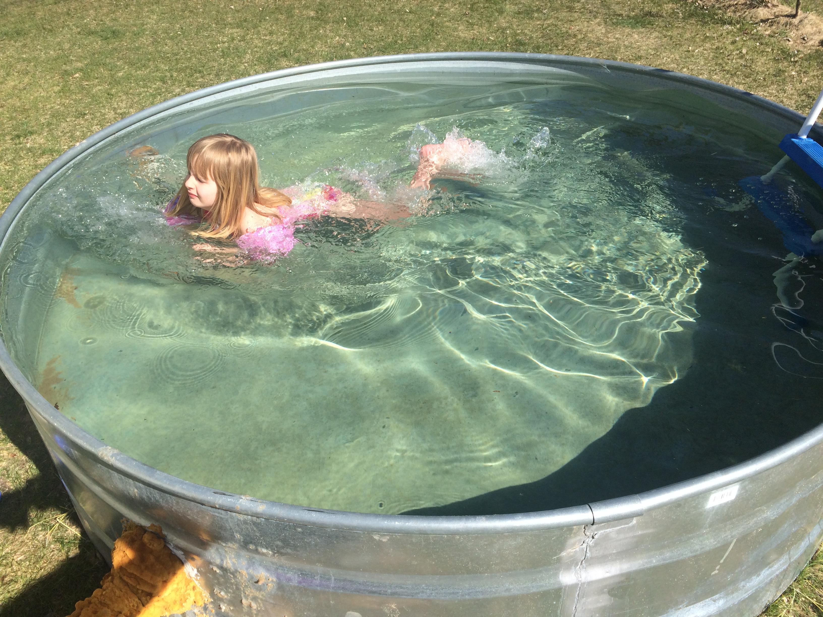 Fullsize Of Metal Water Trough