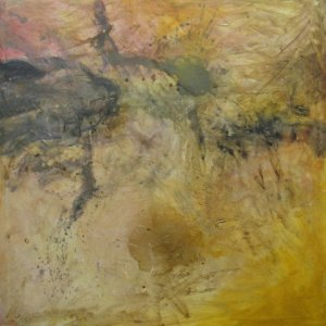 "Desert, Ed McCartan, acrylic on canvas, 48X48"", $1500"