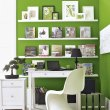 green-home-office-idea