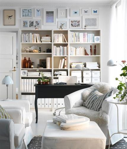 White french beige 2011 New Ikea Living Room Design and Decorating Ideas 429x500 The Wonder of White