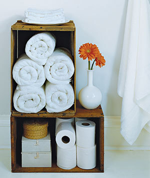 real simple bath towels 300 rect540 8 Creative Uses for Wine Crates