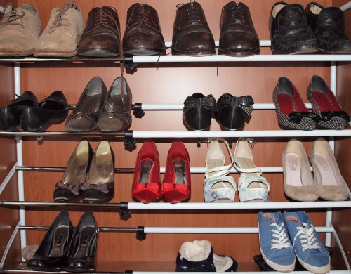 Seriously Sexy Shoe Storage Solutions by Karen Hughes in Castleknock