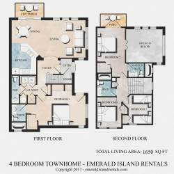 Simple Emerald Island Bed Villa Plan Kissimmee Florida Holiday Homes Plan 4 Bedroom Plans Single Story 4 Bedroom Plans 3000 Sq Ft