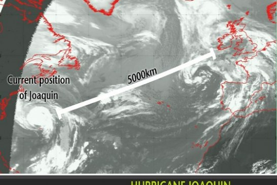 Possible impacts of ex-Hurricane Joaquin in the UK