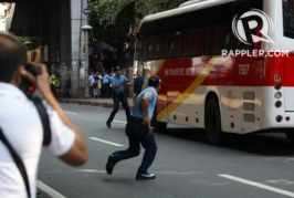 Manila bus hostage taker shot dead