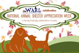 National Animal Shelter and Rescue Appreciation Week