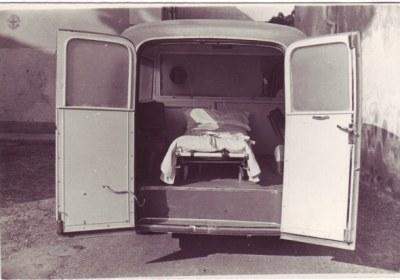 Foto 04: l'interno della Fiat 1100BLR di Schieppati – foto ASCVP