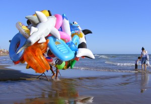 Ostia - Marchand ambulant de jouets gonflables
