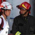 ll ROS VVF in briefing con il medico della MSA