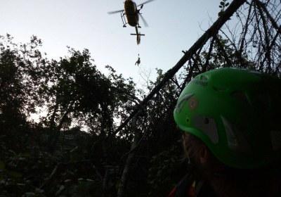 winch H145 I-BRXA calata boscaglia