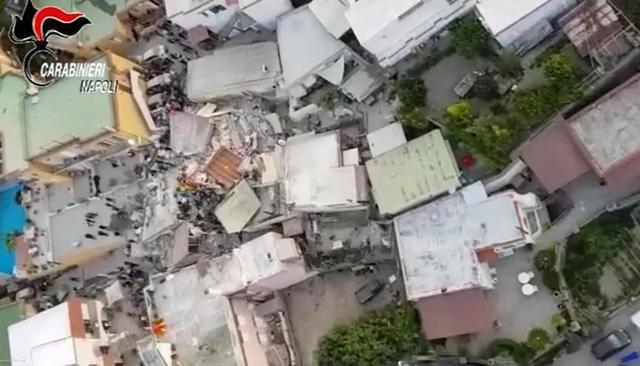 Earthquake at Ischia Island, Italy