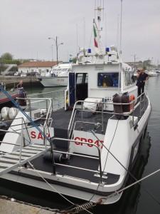 [cml_media_alt id='6862']Imbarcazione di soccorso della CdP. di stazza a Marina (RA)[/cml_media_alt]