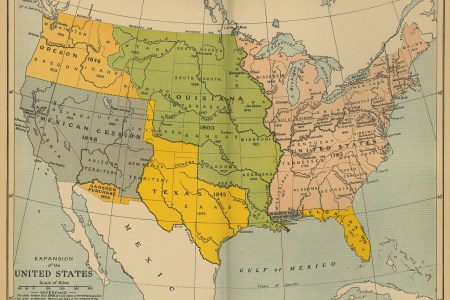 map of the expansion of the united states 1783 1907