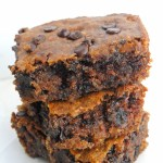 Chocolate Chip Almond Butter Bars (vegan + gluten-free)