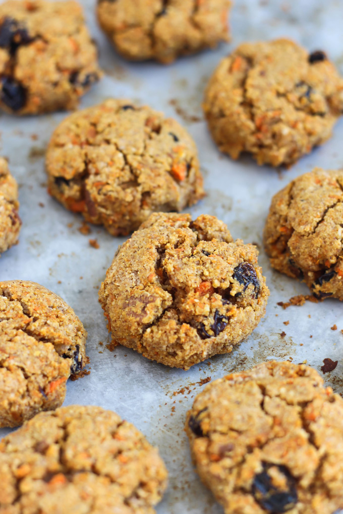 Put a spin on a classic dessert by making Inside Out Carrot Cake Cookies! They're vegan, gluten-free & full of the carrot cake deliciousness you love.