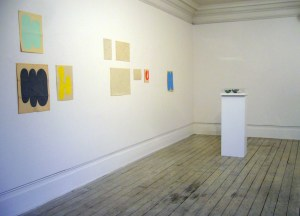 Installation view of Drawing, 2014